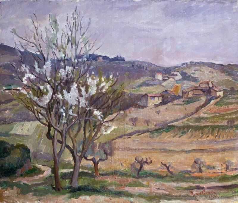 Raffaele De Grada Paesaggio