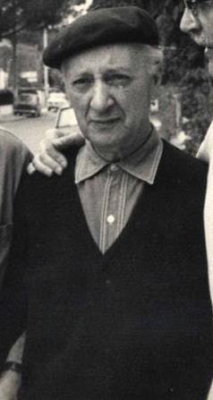 Achille Funi in una fotografia d'epoca