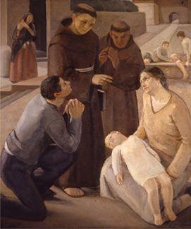 Giuseppe Moroni S. Antonio risuscita un bimbo