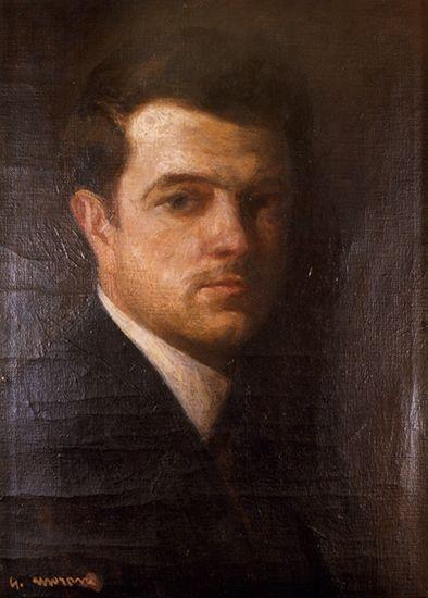 Giuseppe Moroni autoritratto