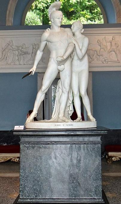 Luigi Acquisti Marte e Venere
