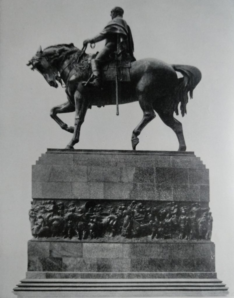 Angelo Zanelli Monumento a Josè Artigas Marmo e Bronzo