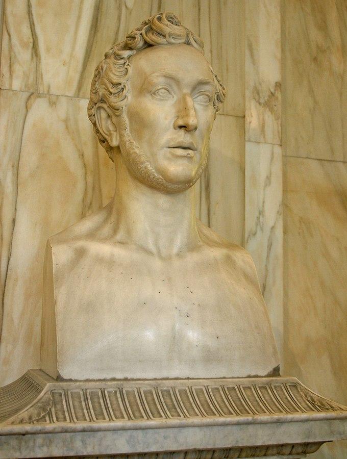 Abbondio Sangiorgio Busto di Giuseppe De Cristoforis