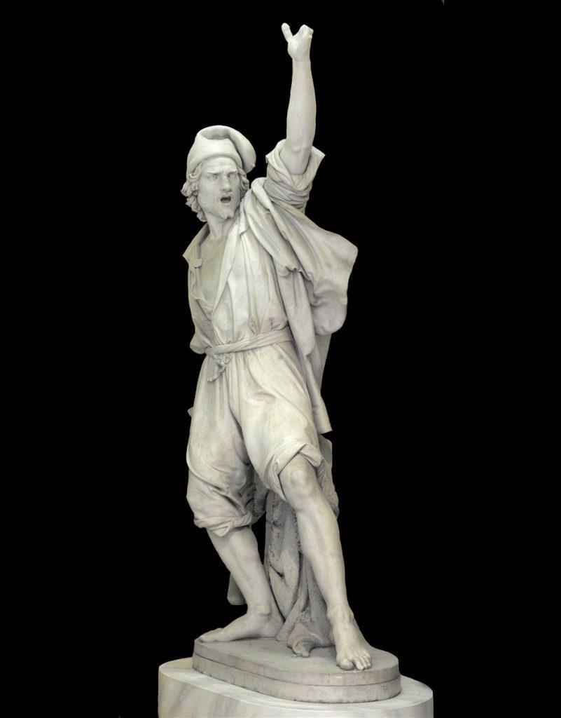 Alessandro Puttinati Masaniello che chiama il popolo alla rivolta