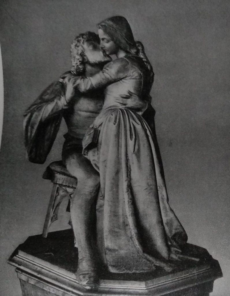 Antonio Tantardini Fausto e Margherita