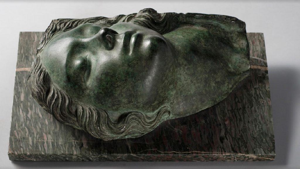 Attilio Torresini Fanciulla dormiente 1929 16x22x37 cm