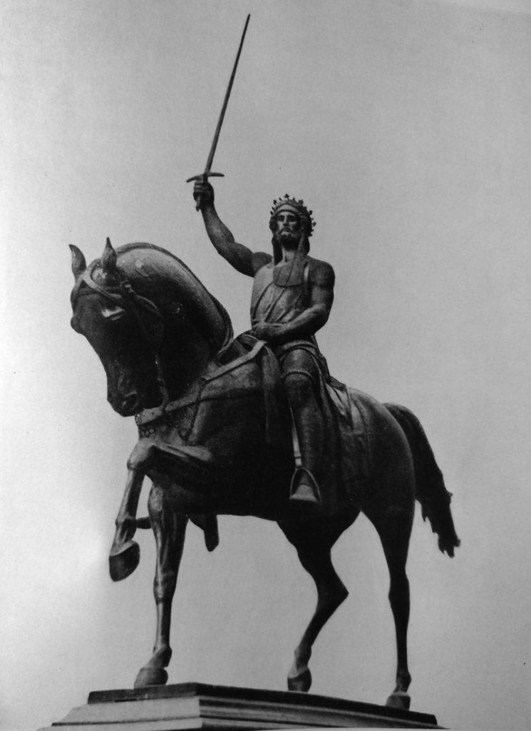 Carlo Marochetti Riccardo Cuor di Leone in bronzo