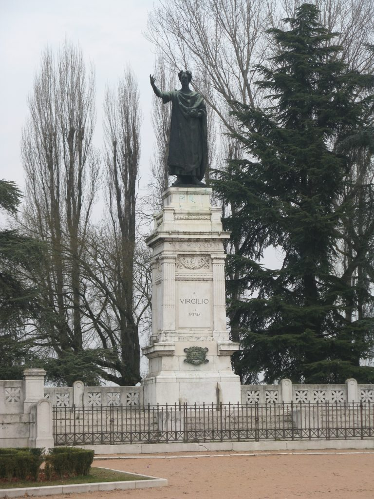 Emilio Quadrelli - Piazza Virgiliana a Mantova