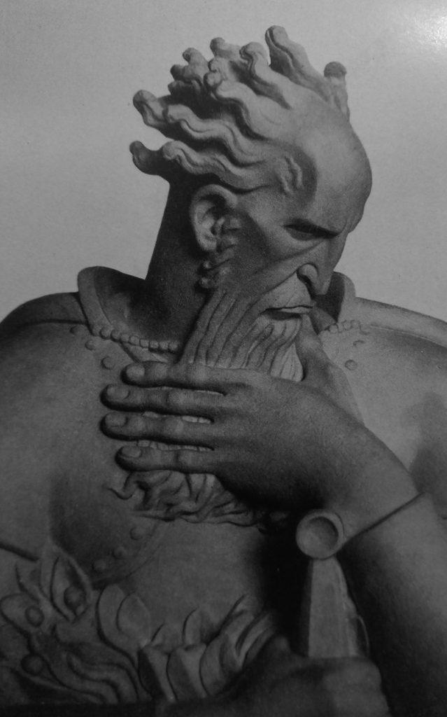 Eugenio Baroni Il Doria in marmo