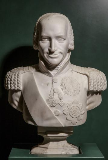 Giacomo Spalla Scultura Busto Vittorio Emanuele I