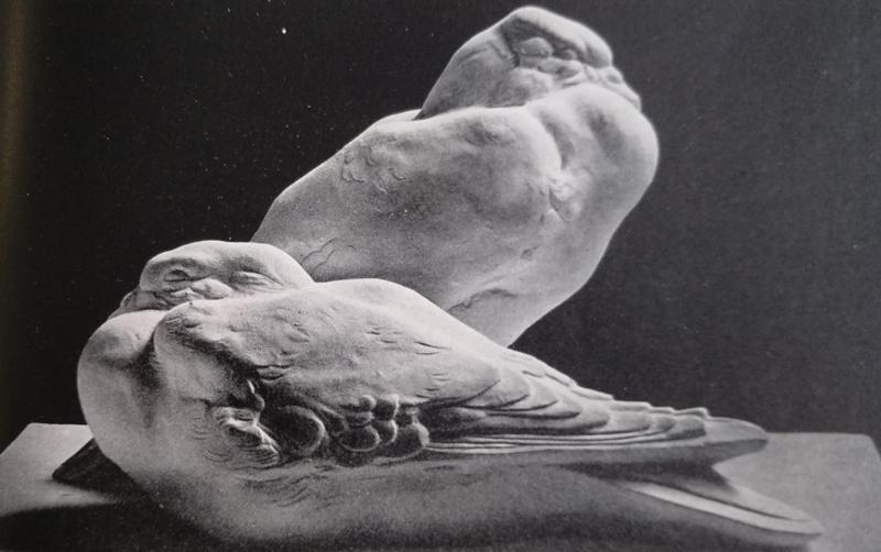 Giovanni Nicolini colombi in gesso