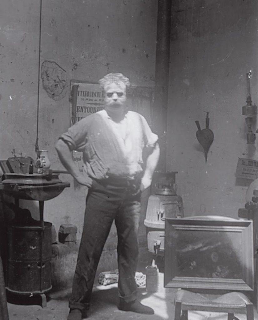 Medardo Rosso Autoritratto nel suo Studio