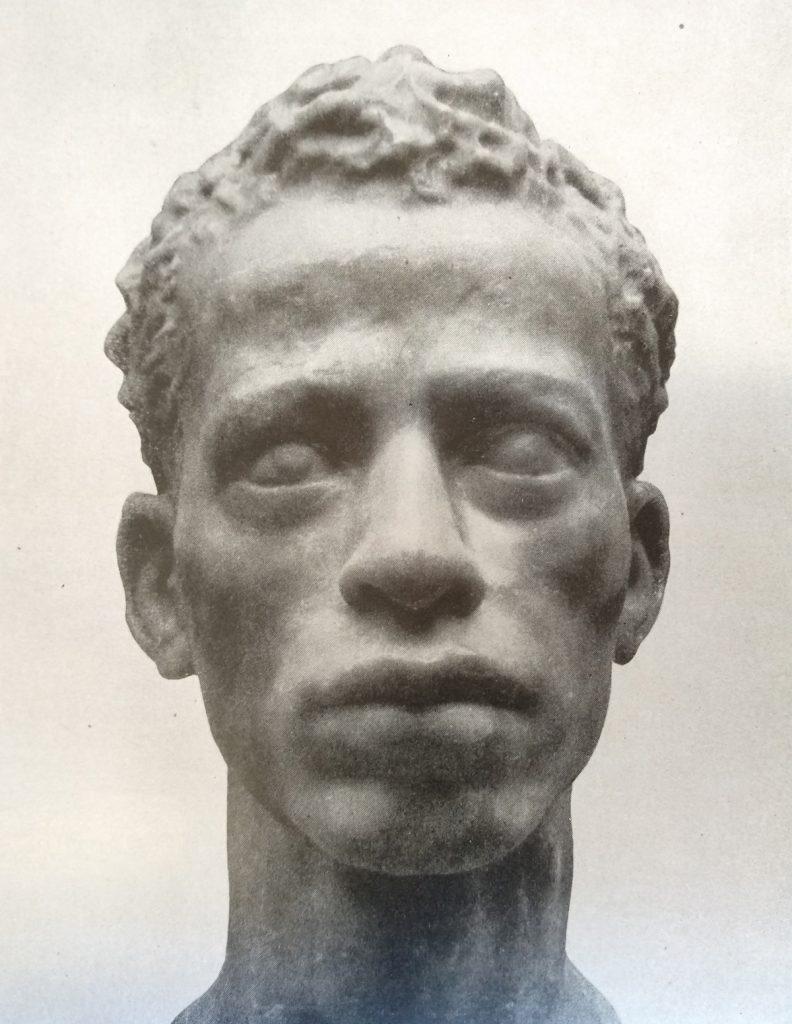 Michele Guerrisi Ritratto di un orientale in cera