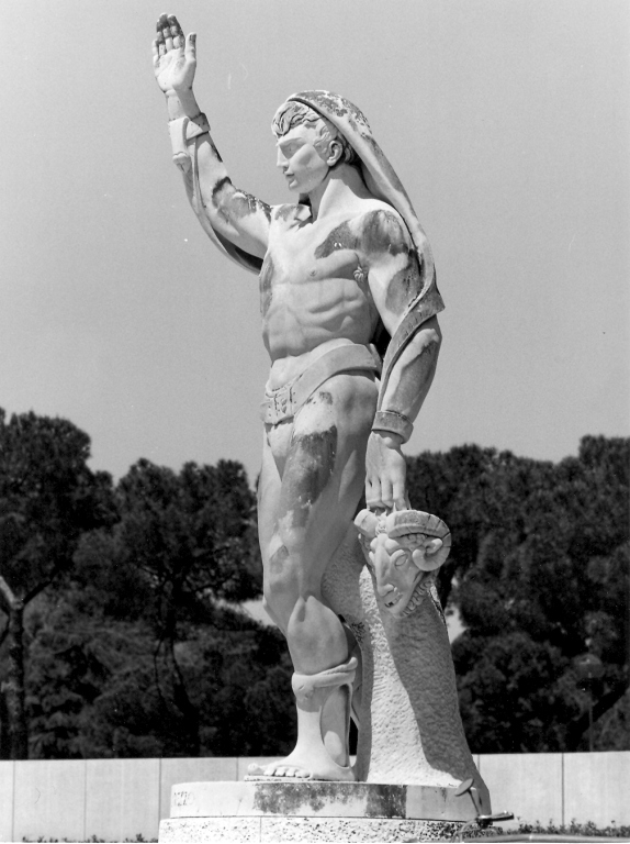 Omero Taddeini Statua Stadio dei marmi Roma