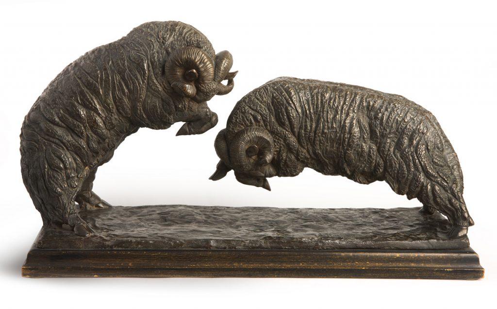Sirio Tofanari - Combattimento di mufloni