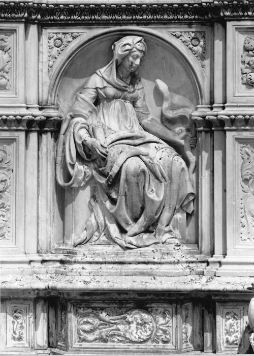 Tito Sarrocchi Fonte Gaia Piazza del Campo Siena Toscana