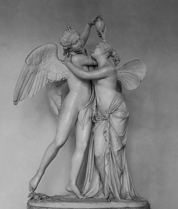 Giovanni Maria Benzoni Amore e Psiche 1845