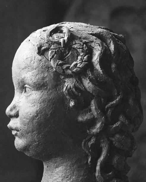 Luciano Mercante Ritratto della figlia dell'incisore Giamapaoli