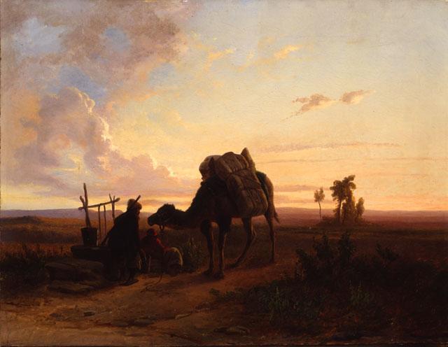 Alfonso Beccaluva - paesaggio orientale