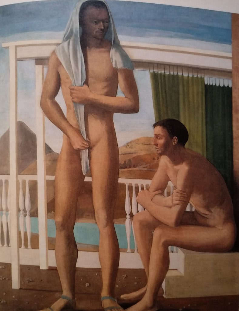 Franco Gentilini - Giovani in riva al mare