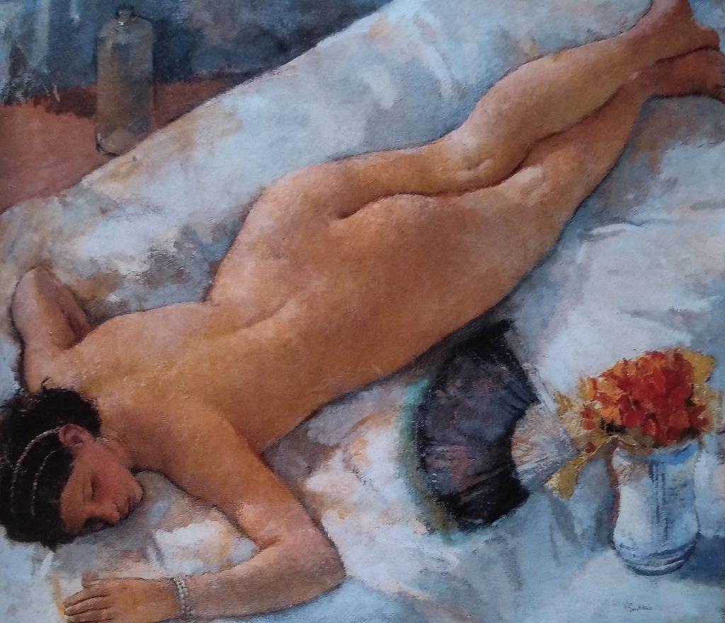 Valutazione dei dipinti antichi - Franco Gentilini - Nudo Disteso 1929