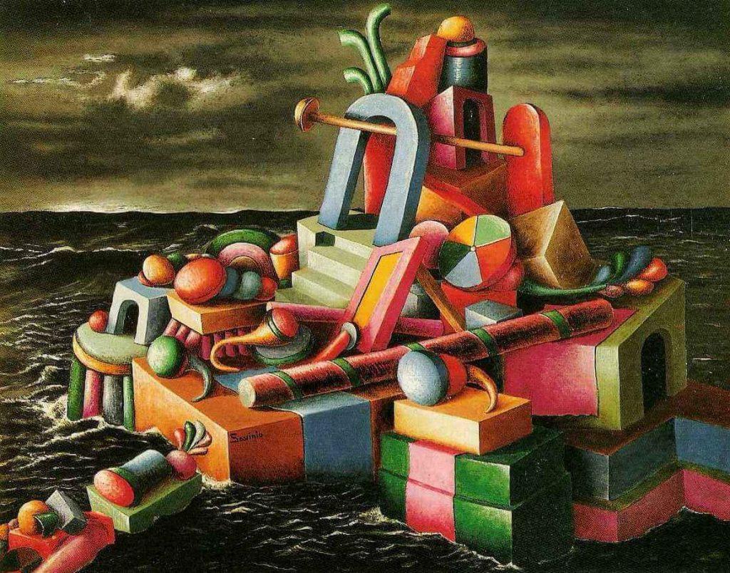 Alberto Savinio - l'isola dei giocattoli