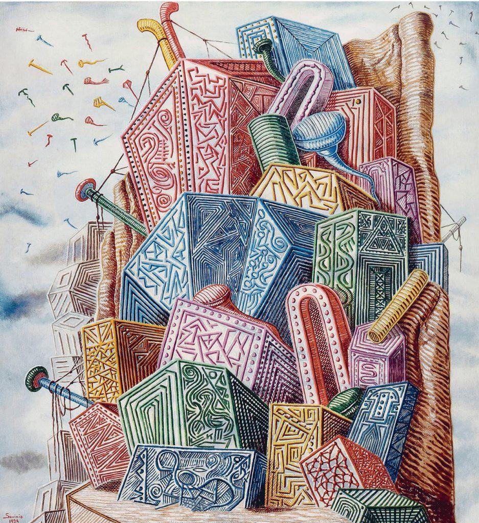 Alberto Savinio scatola sonora