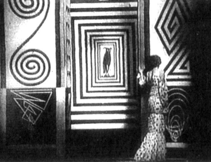 Enrico Prampolini Scenografia futurista del film Thaïs