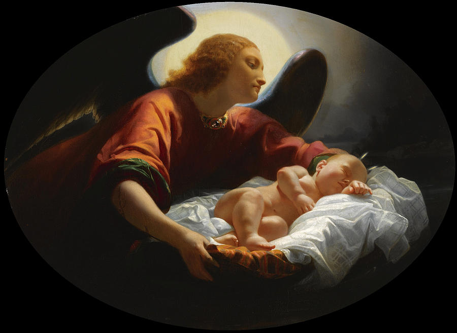 Felix Cottrau Angelo con bambino