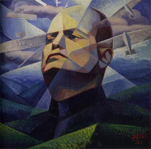 Gerardo Dottori ritratto del duce 1933