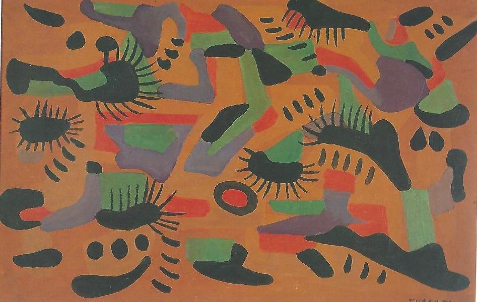 Giulio Turcato Composizione 1953