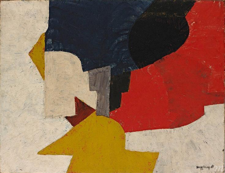 Serge Poliakoff Composizione