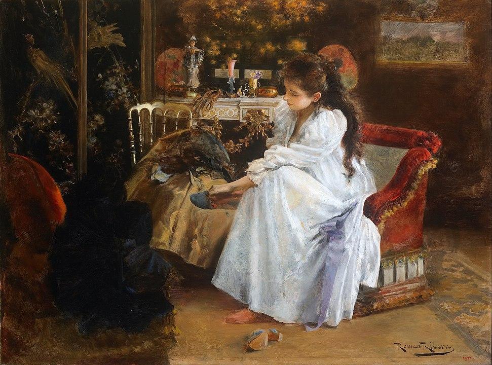 Roman Ribera Cirera - De soirée 1894
