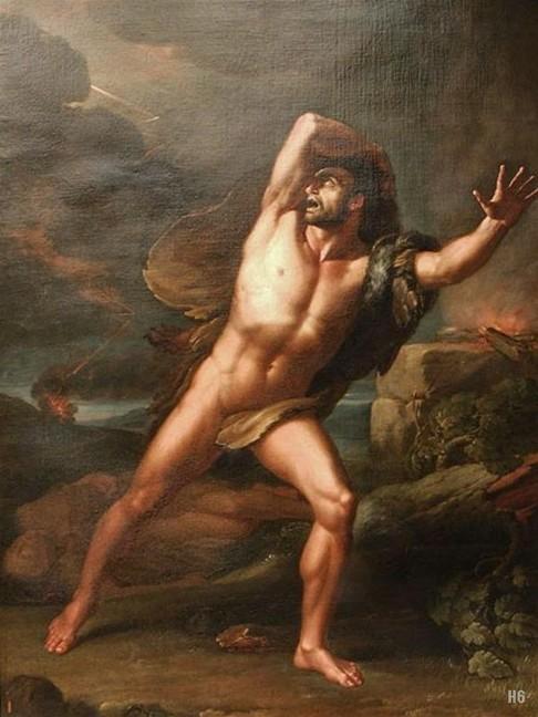 Giovanni Battista Biscarra Il rimorso di Caino