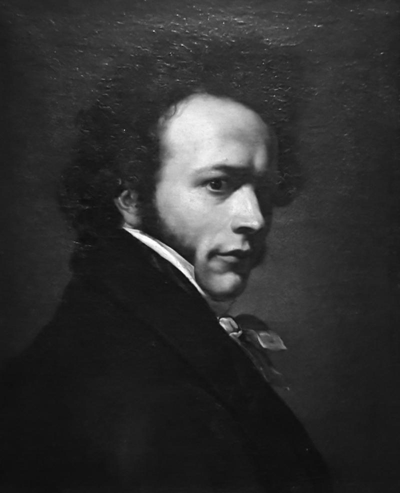 Giovanni Battista Biscarra Autoritratto