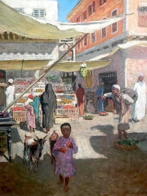 Raoul Du Gardier 1871 1952 Boutique a Libano