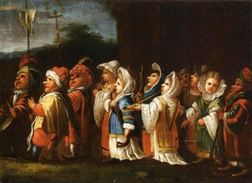 Enrico_Albricci_la_processione_dei_nani
