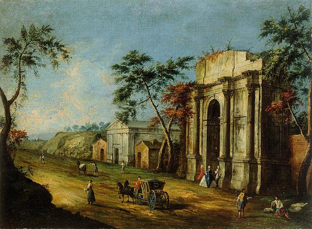 Francesco Albotto Capriccio con arco classico