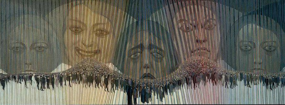 Sexto Canegallo La folla 1920