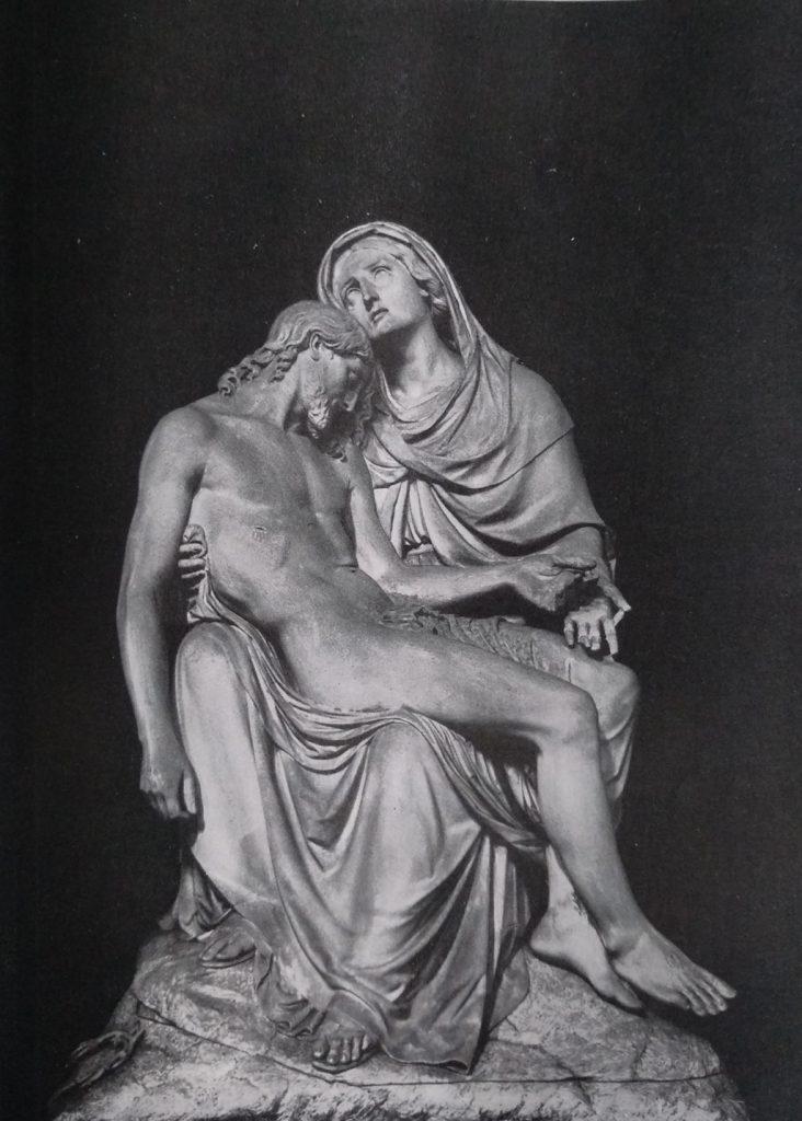 Benedetto Cacciatori La pietà in marmo