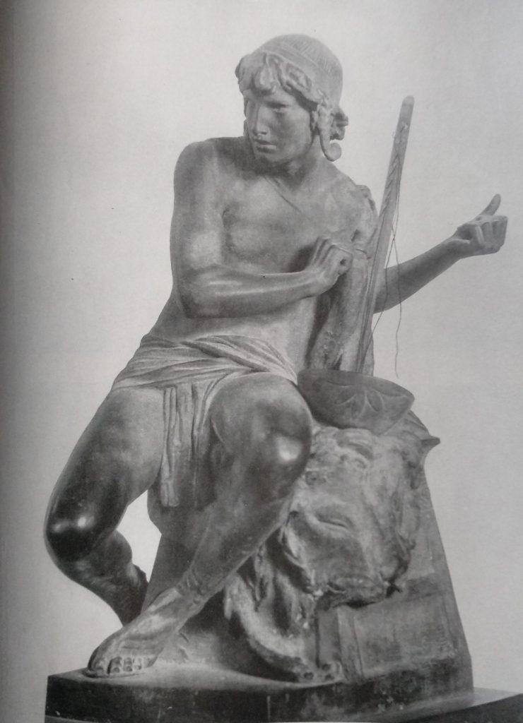 Carlo Filippo Chiaffarino David in Bronzo