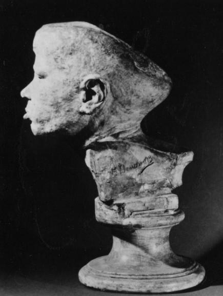 Evaristo Boncinelli busto di giovane