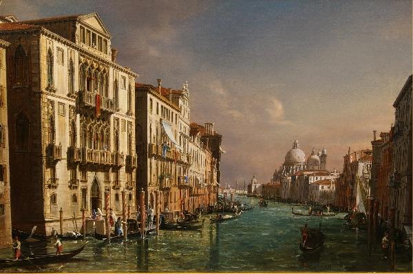 Francesco Zanin Canale a Venezia