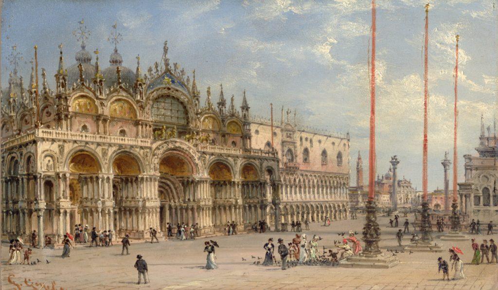 Giovanni Grubacs Piazza San Marco Basilica