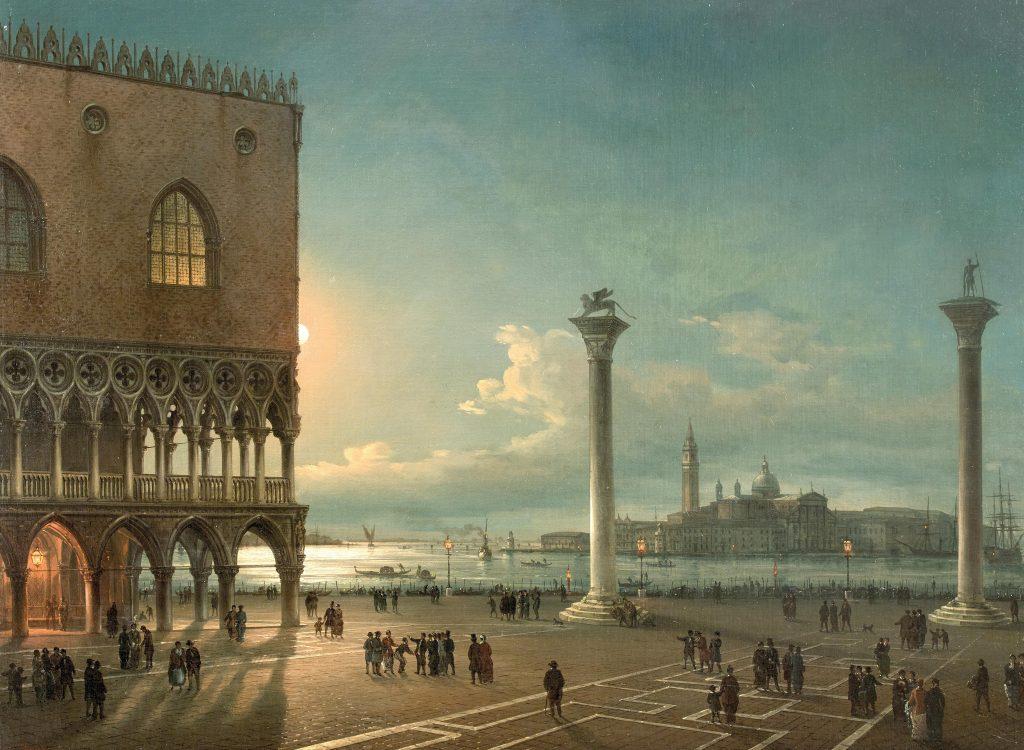 Giovanni Grubacs Piazza San Marco Venezia