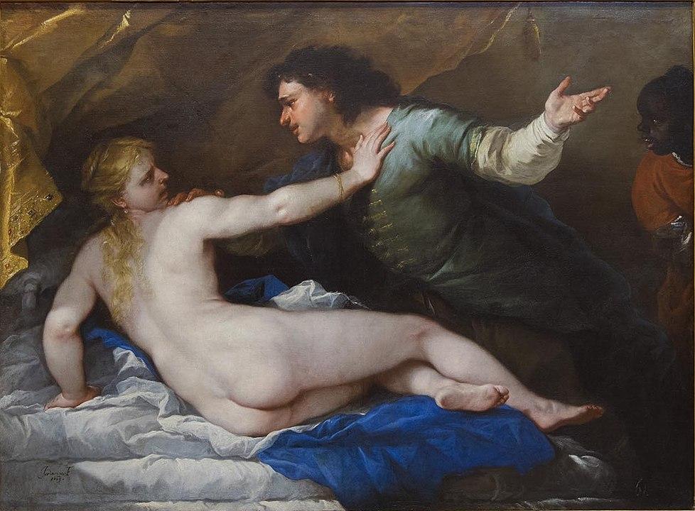 Luca Giordano Lo stupro di Lucrezia 1663