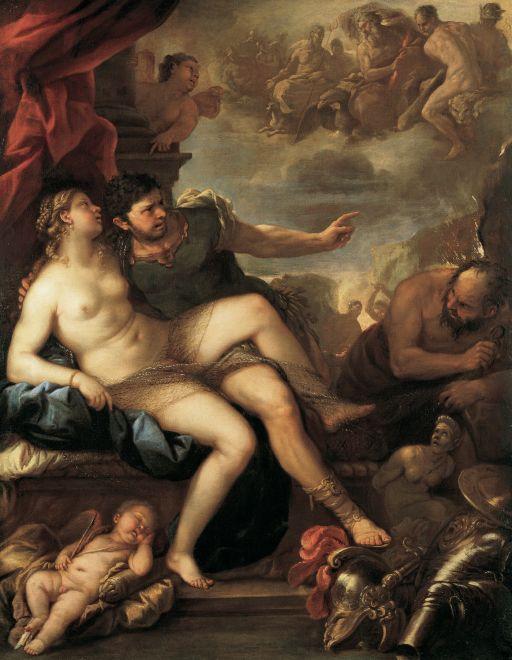 Luca Giordano Venere e Marte 1670
