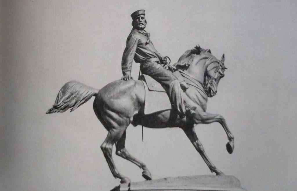 Raffaello Romanelli Monumento a Giuseppe Garibaldi