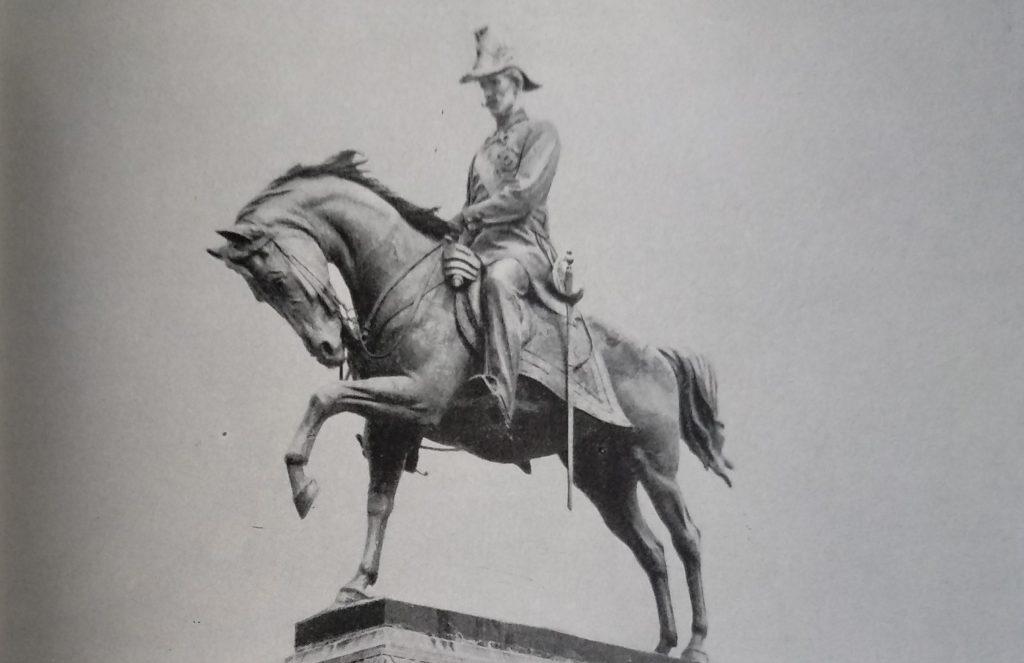 Raffaello Romanelli Monumento al re Carlo Alberto