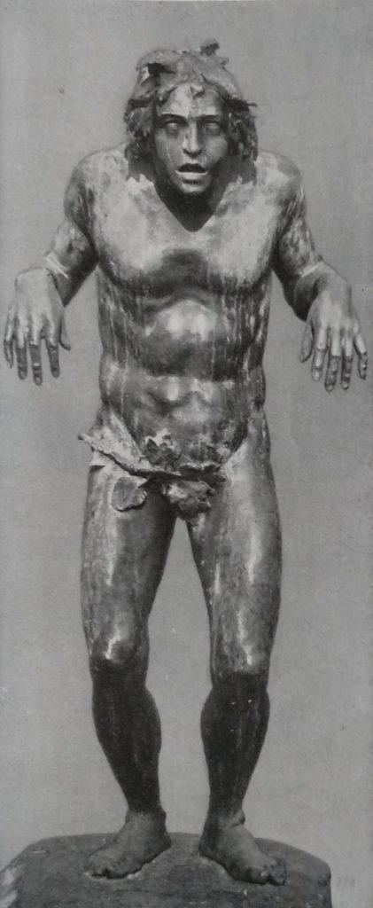 Riccardo Ripamonti Caino in bronzo